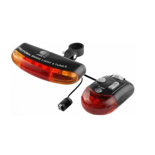 Alarma + semnalizare 7 leduri 8 melodiiPB Cod:MXR50001.3