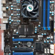KIT AM3+ Placa de baza MSI 970A-G43 +  Athlon II X3 450 3,20GHz + Cooler Master