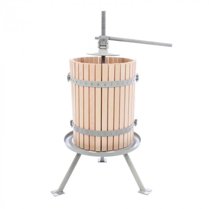 Presa manuala pentru struguri, 32 litri