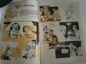 Ion Baiesu - Grota sinistra. Benzi desenate de D. D. Iormeanu