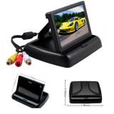 Monitor Auto TFT, 4.3 inch, 2 intrari video, Camera marsarier cu Garantie 2 ani