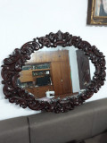Oglinda lemn sculptat