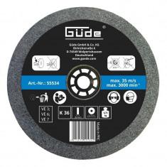 Disc abraziv pentru polizor de banc Guede Gude55534 O150x20x32 mm K60