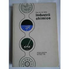 Industrii Chimice - M. Iovu ,265668