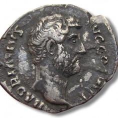 Impreiu Roman Denarius, Hadrian / Hadrianus, Rome 134-138