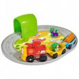 Cumpara ieftin Set copii 3+ ani Tren ABC Roll'n Rail cu sina circulara si accesorii