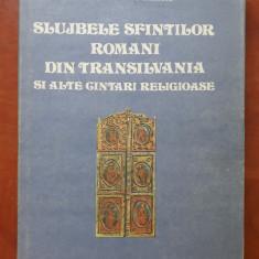 SLUJBELE SFINTILOR ROMANI DIN TRANSILVANIA SI ALTE CANTARI RELIGIOASE -V.Stanciu