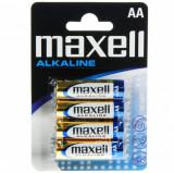 Baterie Alcalina AA LR6 4buc Blister, Maxell MN1500