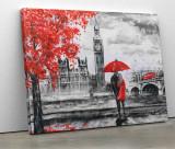Tablou canvas personalizat cu peisaj pictat Londra