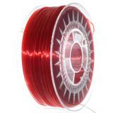 Filament Transparent Devil Design PETG pentru Imprimanta 3D 1.75 mm 1 kg - Roșu Rubin