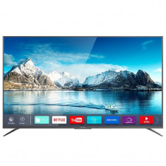 Televizor 4K UltraHD Smart Serie X Kruger & Matz, D-LED, 165 cm, Smart TV, Kruger Matz