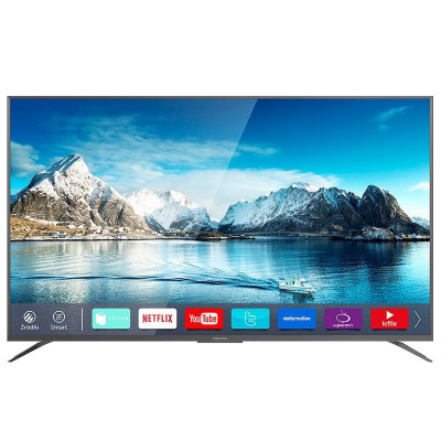 Televizor 4K UltraHD Smart Serie X Kruger & Matz, D-LED, 165 cm foto