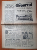 Sportul 15 august 1984-delegatia olimpica s-a intors de la los angeles