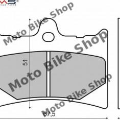 MBS Placute frana Aprilia RS 125, Cod Produs: 225100530RM