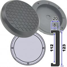 Tampon din cauciuc pentru elevator 112mm