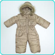 Salopeta—overall de iarna, gros, calduros, practic, C&A→ fete   6—9 luni   74 cm