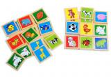 Joc educativ Bingo din lemn