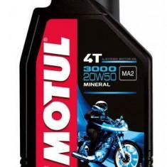 Motul ulei motor scuter moto 3000 4T 20W50 1L