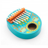 Pian pentru degete, instrument muzical - Kalimba, Djeco