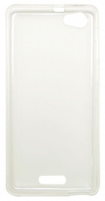 Husa silicon transparenta (cu spate mat) pentru Allview P9 Energy Mini