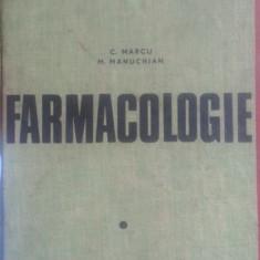 Farmacologie – C. Marcu