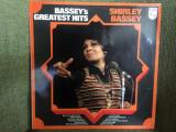 Shirley bassey bassey's greatest hits disc vinyl lp compilatie muzica pop jazz, VINIL, Philips
