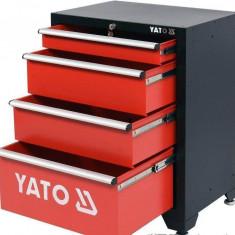 Yato Dulap pentru scule 660 x 457 x 863 mm 4 sertare