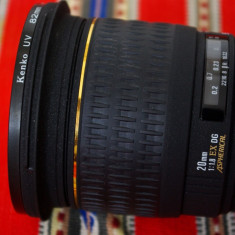 Obiectiv  Sigma  20mm  f1.8  EX  DG pentru Pentax