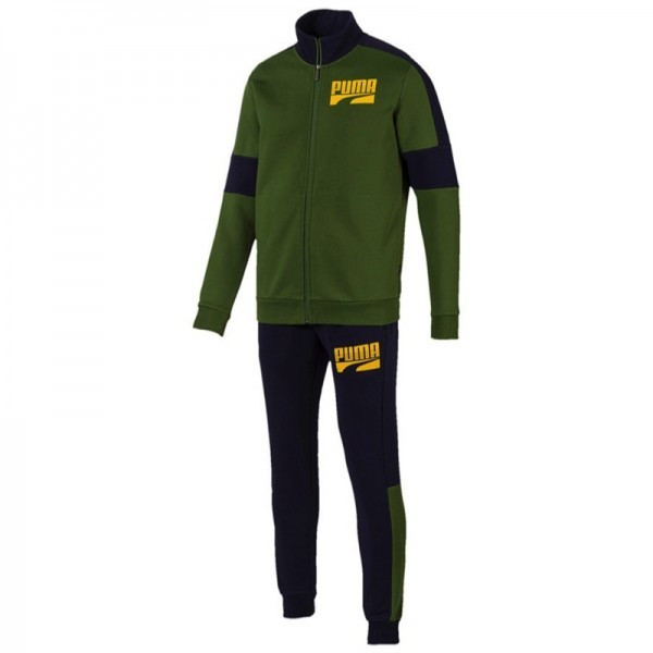 TRENING Puma REBEL BLOCK SWEAT SUIT