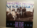 Crisis Party – Rude Awakening (1989/Emergo/RFG) - Vinil/Vinyl/Rock/Impecabil