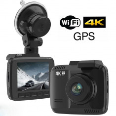 camera auto dvr 4k gps wifi