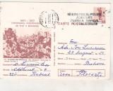 bnk cp 1877-1977 - circulata - marca fixa