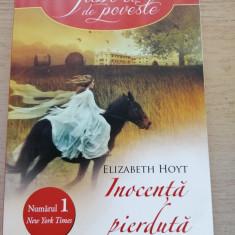 Inocenta pierduta - Elizabeth Hoyt, roman dragoste, format mare, 319 pagini