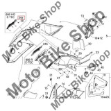 MBS Grila capota Ski-Doo Summit X 600HO E-TEC, 2011, Cod Produs: 517303622SK