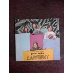 LABIRINT, JOCURI LOGICE - DUMITRU VIOREL GEORGE