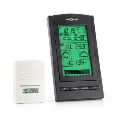 OneConcept Isfjorden Stație meteorologică baterie de alarmă 1 x senzor wireless de exterior