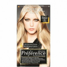 Vopsea de par permanenta cu amoniac L Oreal Paris Preference 8.1 COPENHAGUE - BLOND DESCHIS CENUSIU, 174 ml