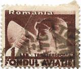 Trimiteri postale Fondul aviatiei, 1936 - 1 L, obliterat, Aviatie, Stampilat