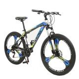 "Cumpara ieftin Bicicleta MTB Tornado, cadru otel 17"", roti 26 inch, 21 viteze cu schimbator Shimano, suspensii pe furca, jante pline, Phoenix"