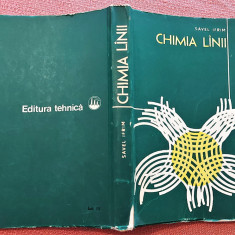 Chimia lanii. Editura Tehnica, 1979 - Savel Ifrim