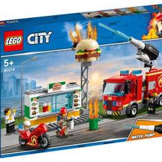 Stingerea incendiului de la Burger Bar (60214)