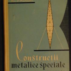 Constructii metalice speciale-Dan D.Mateescu