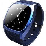 Smartwatch iUni U26 Bluetooth, 1.5 inch, BT, Notificari, Albastru