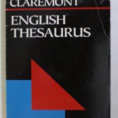 ENGLISH THESAURUS , 1995