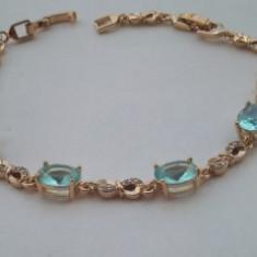 Bratara Anebris Luxury Aquamarine
