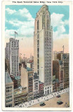 Carte postala circulata SUA 8 Mai 1928 New York City