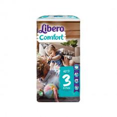 Scutece Libero Baby Soft 3 Midi, 5-9 kg, 62 buc