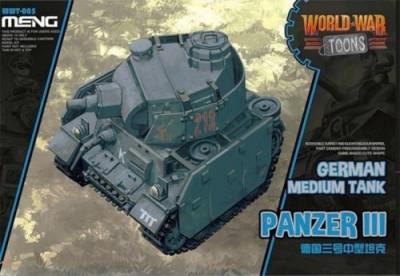 German Medium Tank Panzer III (cartoon model) - snap-fit foto