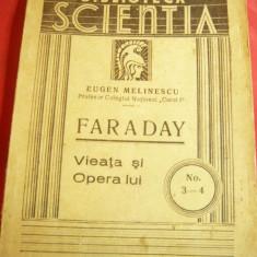 E.Melinescu- Faraday- Viata si Opera lui -Ed.1938 Biblioteca Scientia nr.3-4