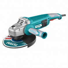 Polizor unghiular Total, 2400 W, 230 mm, 6300 rpm, disc 125 mm, maner auxiliar